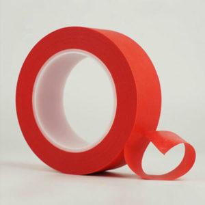 High-Temperature PET Film red silicone splicing Tape