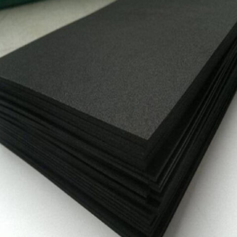 Die Cutting CR Neoprene Rubber Foam With Adhesive