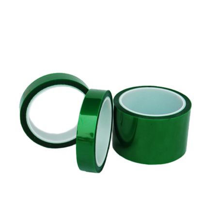 Heat Resistant Green Polyester PET Film Tape For Spray Coating