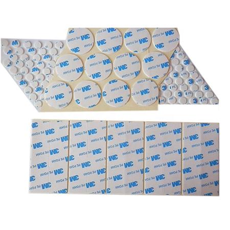 Custom Size And Shape 3M Pe Pu Eva Pvc Foam Acrylic Double sided Adhesive Tape die cutting