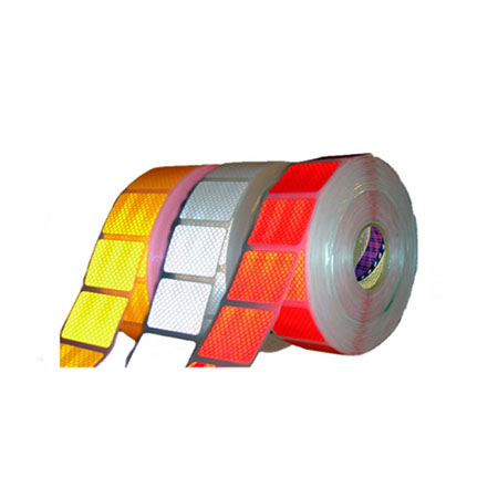 Customized Factory cheap low price self adhesive Reflective Tape Die cutting for TRUCK