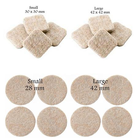 Wholesale Self Adhesive Furniture Felt Feet Pads furniture rubber foot pad furniture protect felt pad