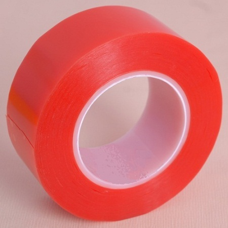 0.2mm Thickness Equivalent to Tesa 4965 Red PET Film Double Sided Tape