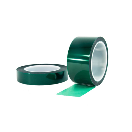3M851 High Temperature Green PET Polyester circuit plating Tape for Chemical Milling