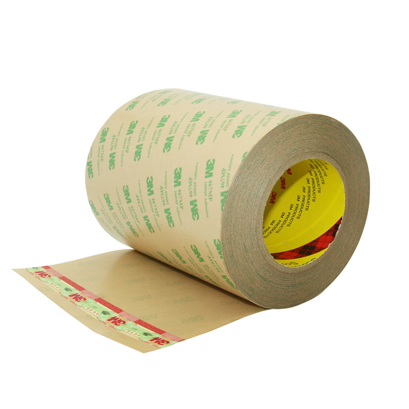 3M 467MP transfer tape die cut for self adhesive magnet and epoxy board cnc machining
