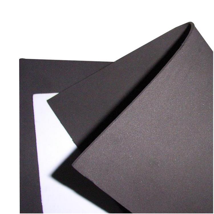 Custom PE EVA Double Sided Foam Tape Rubber Cushion Foam Sheets Die Cutting