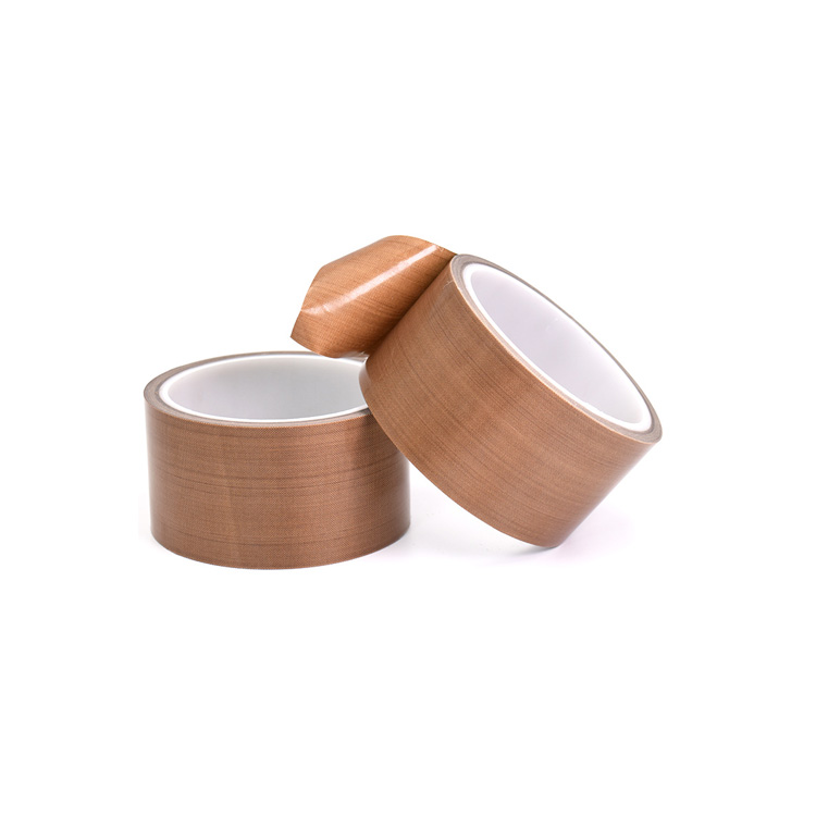 High temperature PTFE coating with silicone adhesive fabric heat sealing teflon tape insulating tape