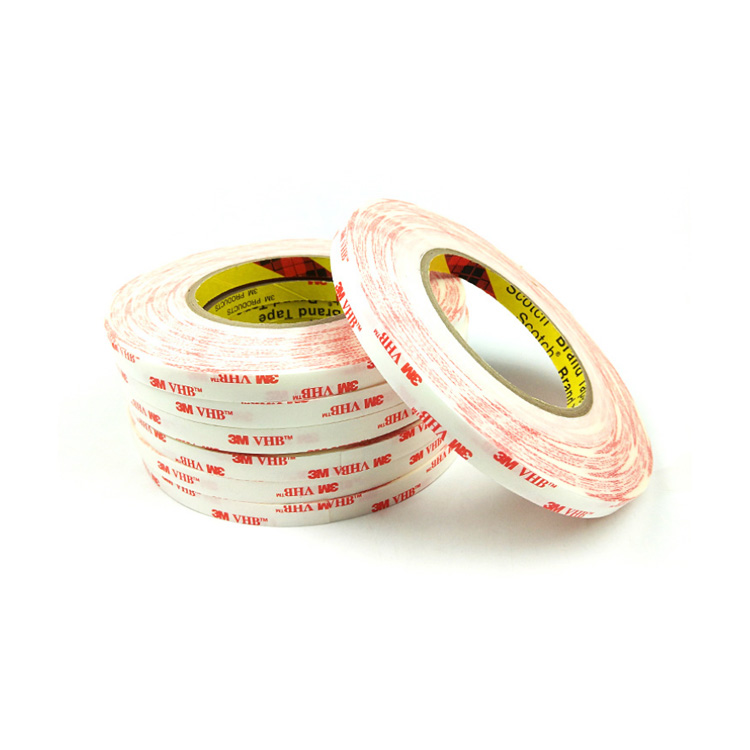 Removable Double Sided 0.15mm white VHB acrylic foam Specialty Tape replacement 3M 4914