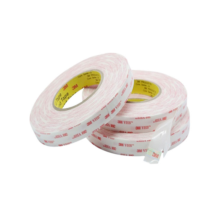 Xinst 2040W white acrylic VHB foam tape replacement 3M 4920 Double Sided VHB tape