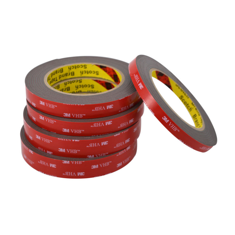 Grey double sided VHB acrylic foam tape replacement 3M 5608A