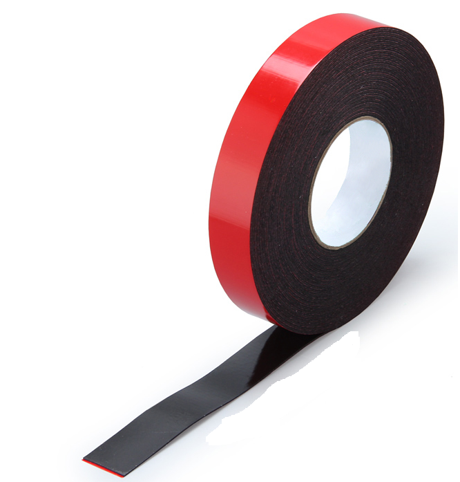 Black VHB Acrylic Foam Tape With Excellent Adhesion