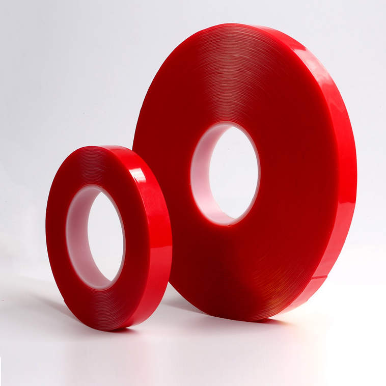 0.5mm, 0.64mm 0.8mm Thickness Transparent VHB Acrylic Foam Double Sided Tape