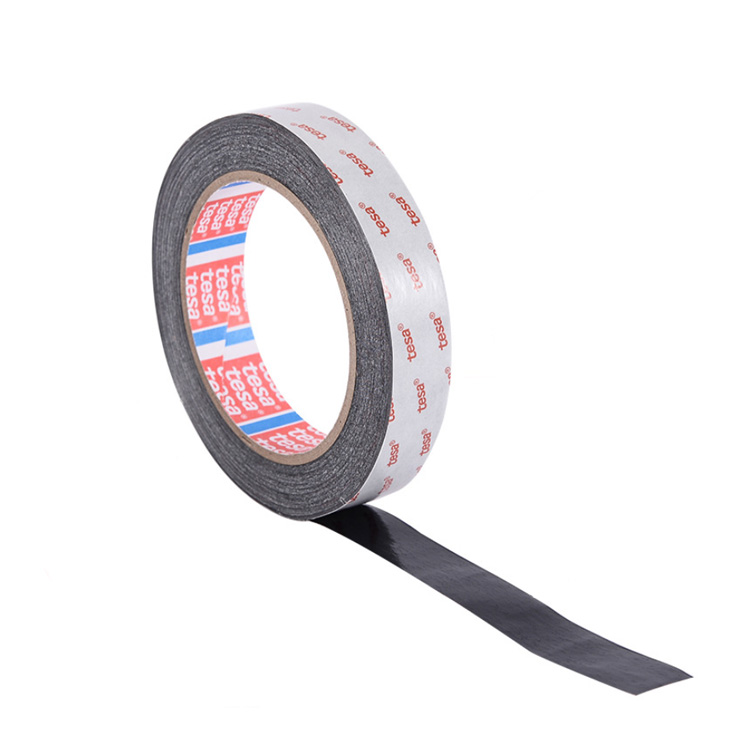 Shock Resistant Tape Tesa 61395 Black Pet Double Side Coated Film Tape 0.2mm Thickness
