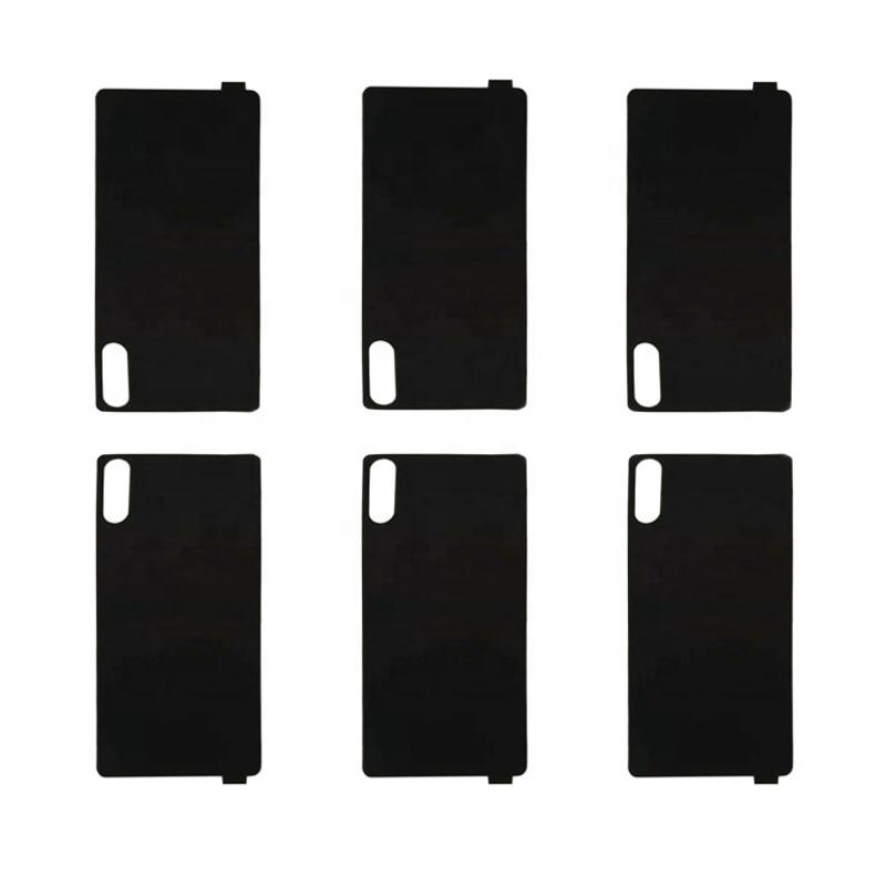 Die cut black Poron foam tape ROGERS PORON sheet Poron Foam Gasket for LCD screen window
