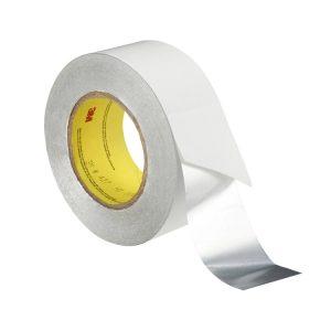 3M 427 Shiny Silver Aluminum Acrylic Adhesive Tape Linered Aluminum Foil Tape