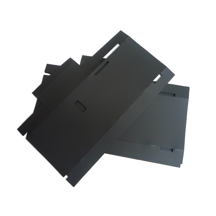 Die Cut ITW Formex GK-5BK Flame Retardant Electrical Insulation Material