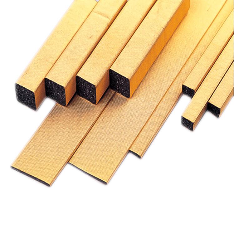 Gold plated conductive foam gasket Emi Emc Emp Shielding foam Gaskets die cutting