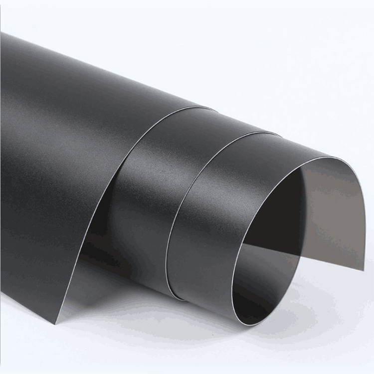 Halogen-free PP insulation flame retardant material Black fireproof insulation sheet die cutting