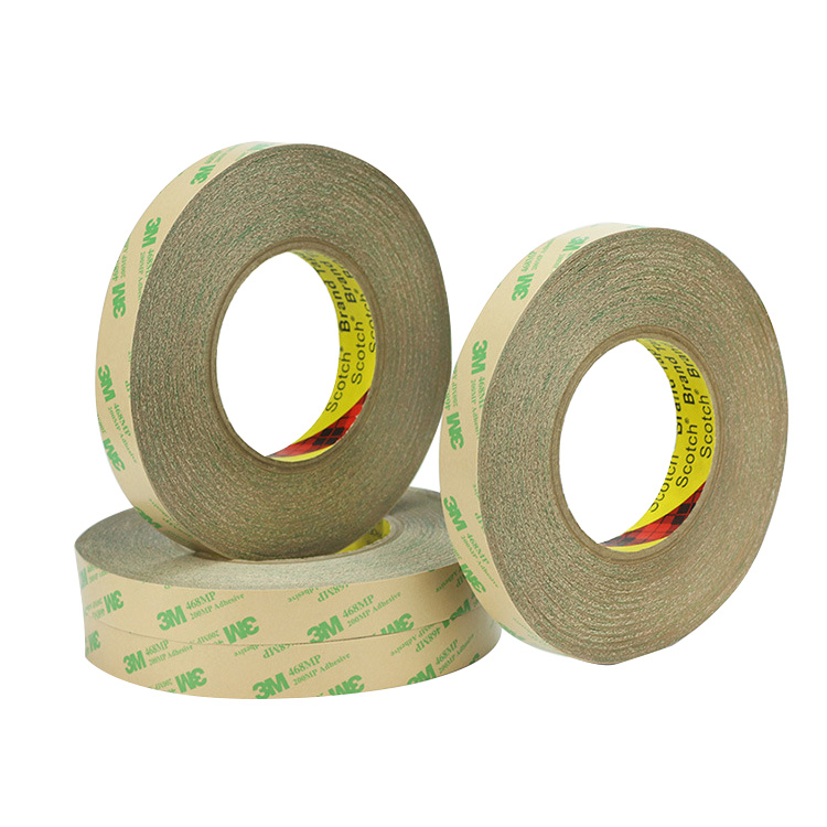 3M 468MP transfer Double Sided tape with 200MP Adhesive die cut for membrane switch