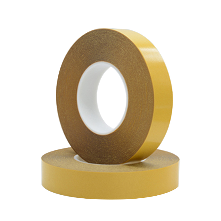 Crown 7972 Heat Resistant Transparent PET Double Sided Adhesive Tape masking mounting tape