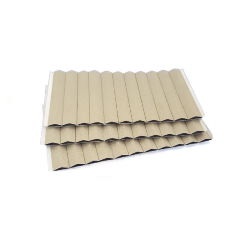 Anti-oxidation D type conductive fabric foam gasket Emi Shielding foam Gaskets die cutting
