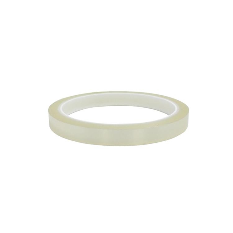 Clear PET Silicone Tape Transparent High Temperature PET Polyester Tape for Masking