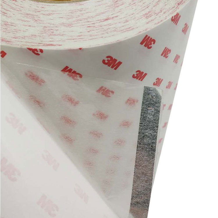 3M 9888T Clear Double Coated Tissue Tape Non Woven Tape