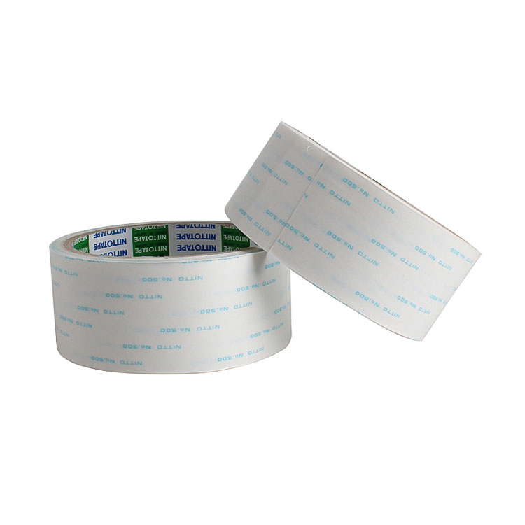 Nitto 500 Double Coated Tape No.500 Non woven Tissue tape die cutting